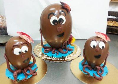 Uova di cioccolato pasticceria rozzo 6 (Copy)